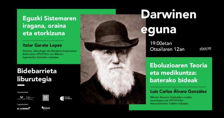 Gure Eguzki Sistema eta medikuntza, eboluzioaren teoriaren haritik, Darwinen Egunean