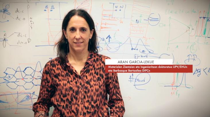 """Aran Garcia-Lekue: """"Elektroiek atomoen eta molekulen eskalan duten portaera aztertzen dugu"""" #Zientzialari (132)"""