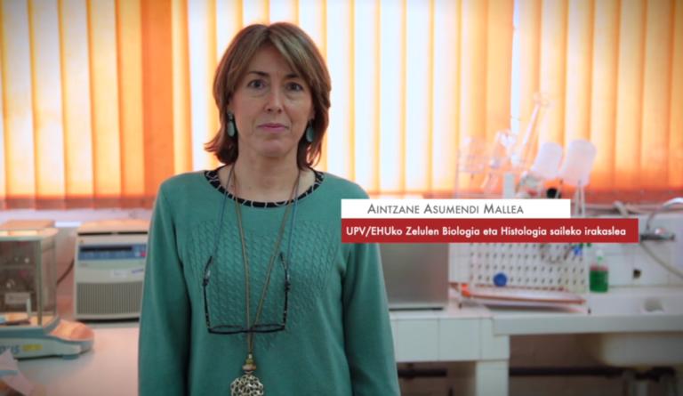 """Aintzane Asumendi: """"Melanomaren aldakortasunak asko zailtzen du bere eboluzio klinikoa aurreikustea"""" #Zientzialari (133)"""
