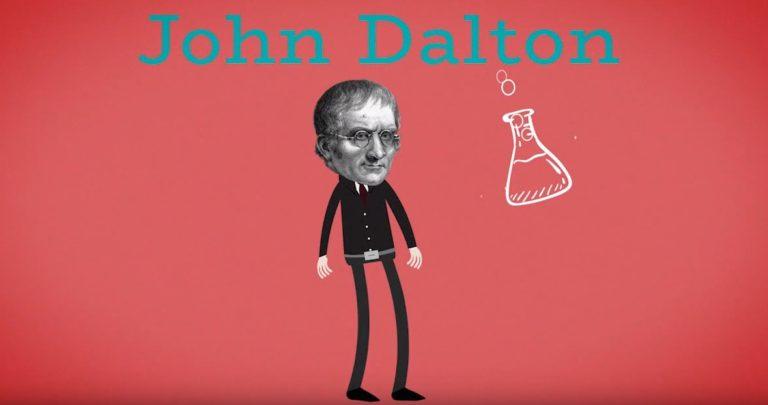 Daltonismoaren historia
