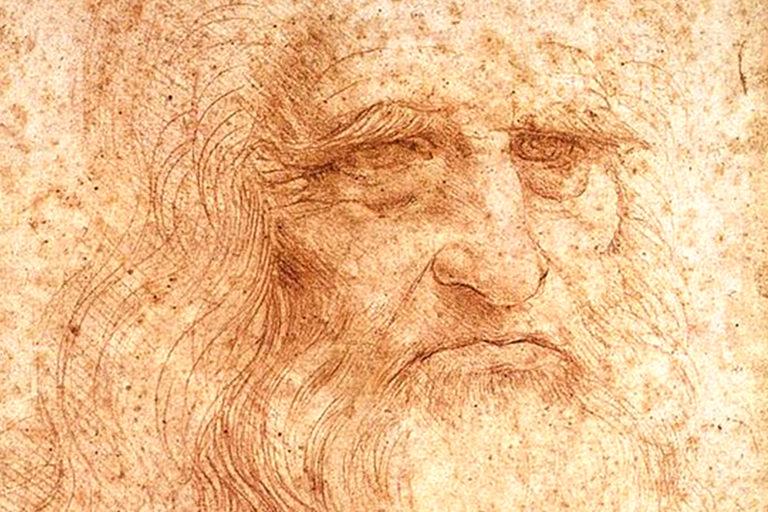 Da Vinciren marrazkietako informazio ikusezina
