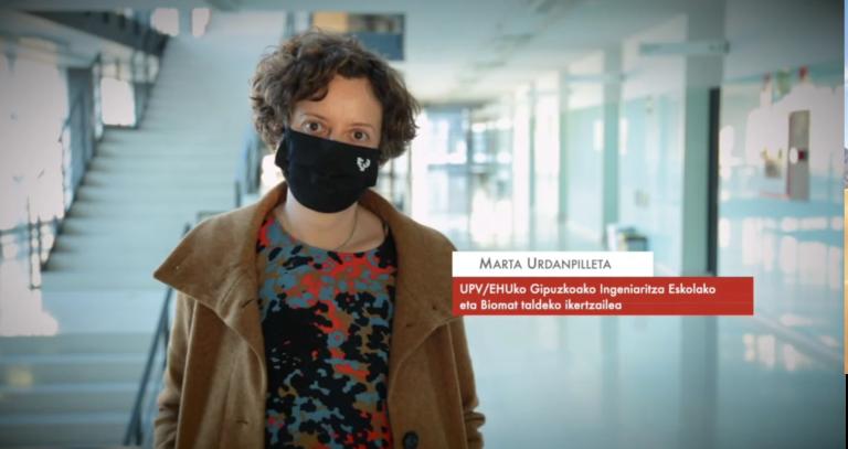 """Marta Urdanpilleta: """"Artilea isolatzaile termiko eta akustiko natural ona izan daiteke """" #Zientzialari (150)"""