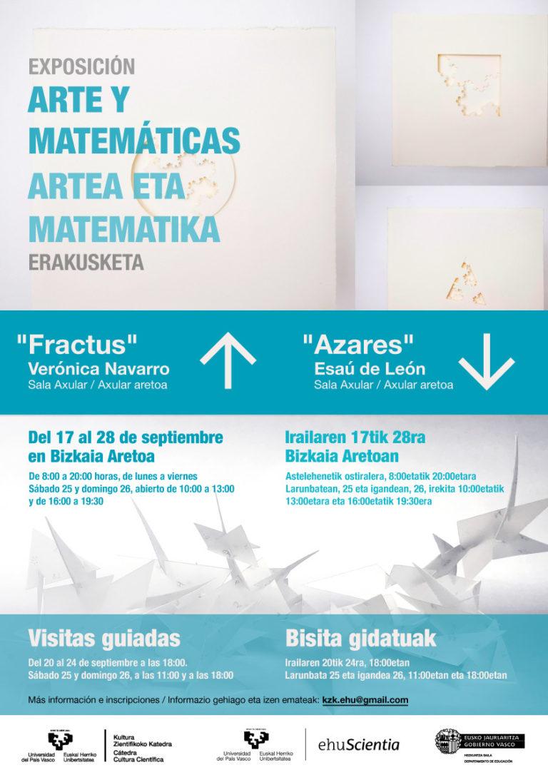 Artea eta Matematika erakusketa: 'Fractus' eta 'Azares'