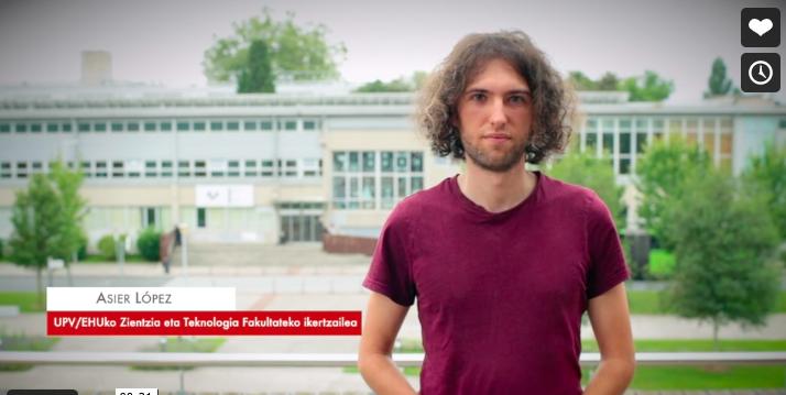 """Asier López: """"Ikasketa automatikoak elkarrizketa sistema konplexuak eratzea ahalbidetzen du """" #Zientzialari (159)"""
